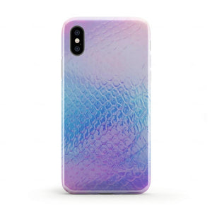 Iridescent Mermaid Holo Case iPhone Case Get.Casely iPhone X / XS