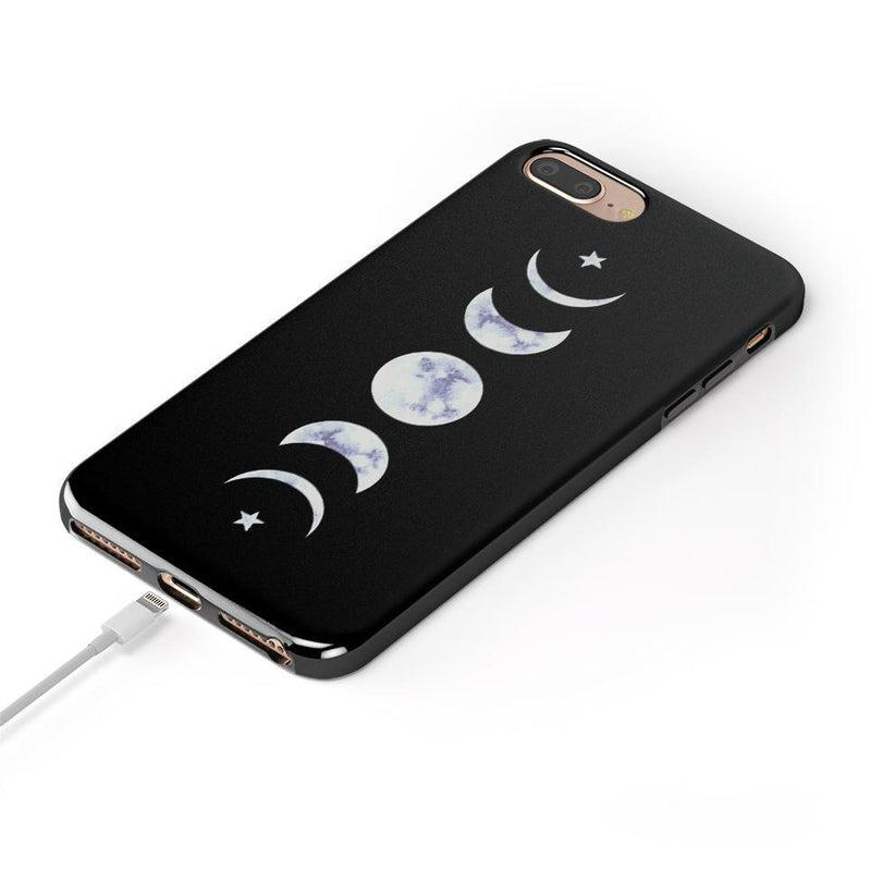 It's Just a Phase | Marble Moon Case iPhone Case Get.Casely