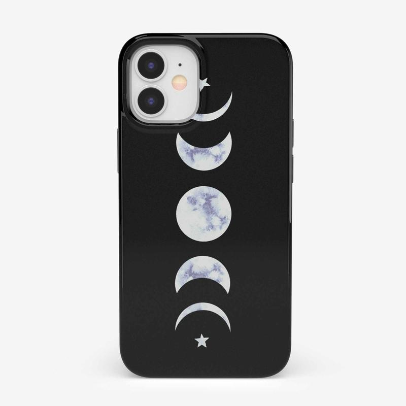 It's Just a Phase | Marble Moon Case iPhone Case get.casely Bold iPhone 12 Mini