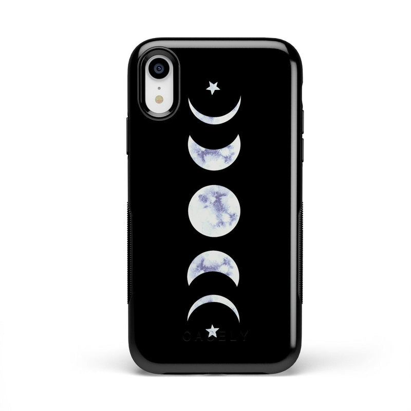 It's Just a Phase | Marble Moon Case iPhone Case Get.Casely Bold iPhone XR