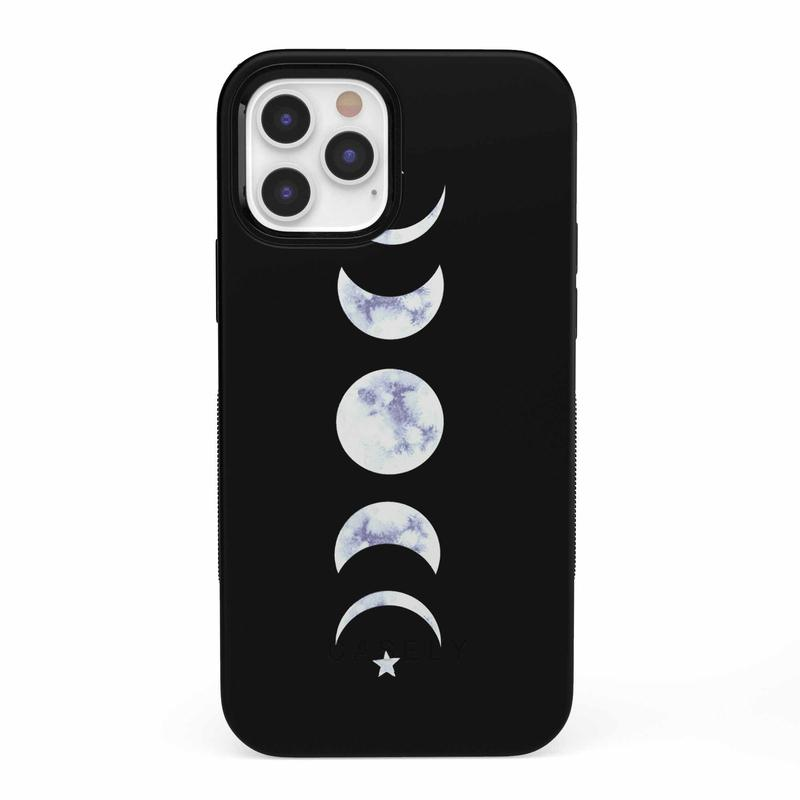 It's Just a Phase | Marble Moon Case iPhone Case get.casely Classic iPhone 12 Pro