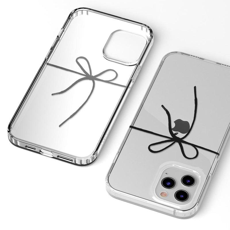 Knot Over U Clear Ribbon Case iPhone Case get.casely
