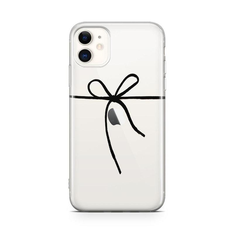 Knot Over U Clear Ribbon Case iPhone Case Get.Casely Classic iPhone 11
