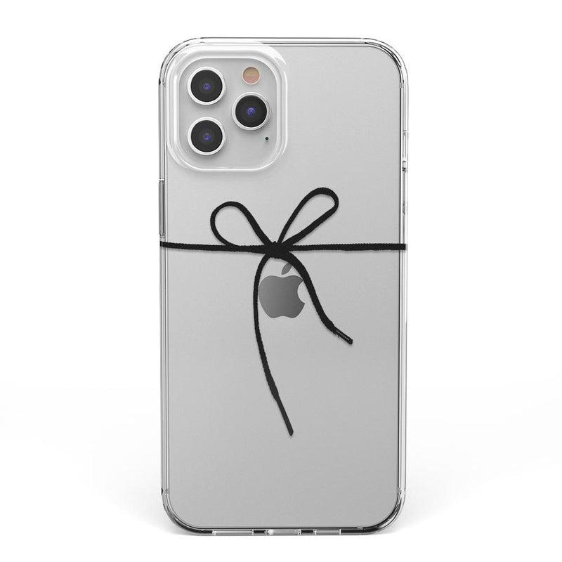Knot Over U Clear Ribbon Case iPhone Case Get.Casely Classic iPhone 6/6s