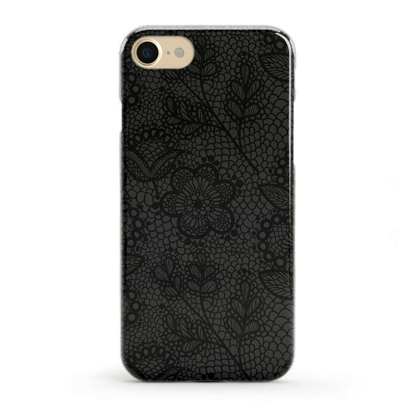 Lace Me Up Black Lace Case iPhone Case get.casely Classic iPhone 8