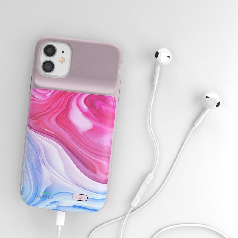 Land & Sea Marble Swirl iPhone Case iPhone Case get.casely