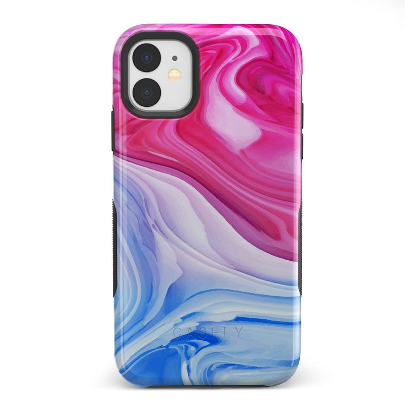 Land & Sea Marble Swirl iPhone Case iPhone Case get.casely Bold iPhone 11