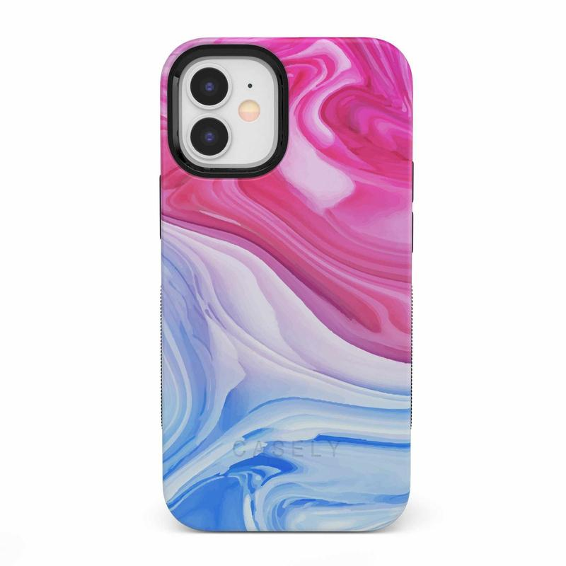 Land & Sea Marble Swirl iPhone Case iPhone Case get.casely Bold iPhone 12 Mini