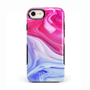 Land & Sea Marble Swirl iPhone Case iPhone Case get.casely Bold iPhone 8