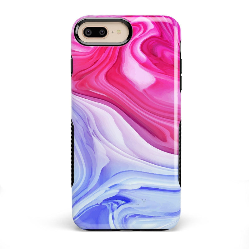 Land & Sea Marble Swirl iPhone Case iPhone Case get.casely Bold iPhone 8 Plus