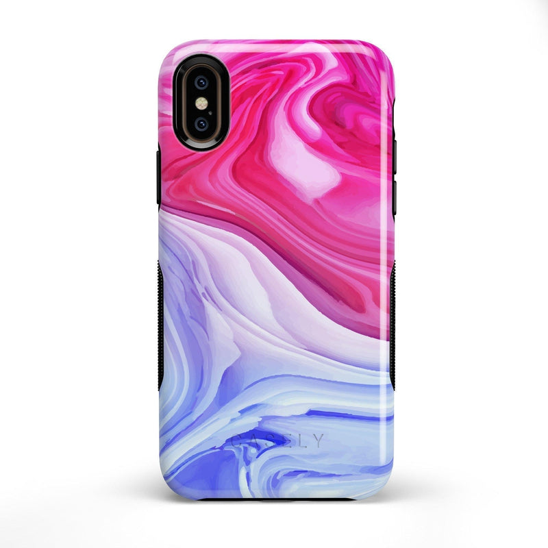 Land & Sea Marble Swirl iPhone Case iPhone Case get.casely Bold iPhone X / XS