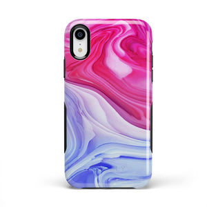 Land & Sea Marble Swirl iPhone Case iPhone Case get.casely Bold iPhone XR