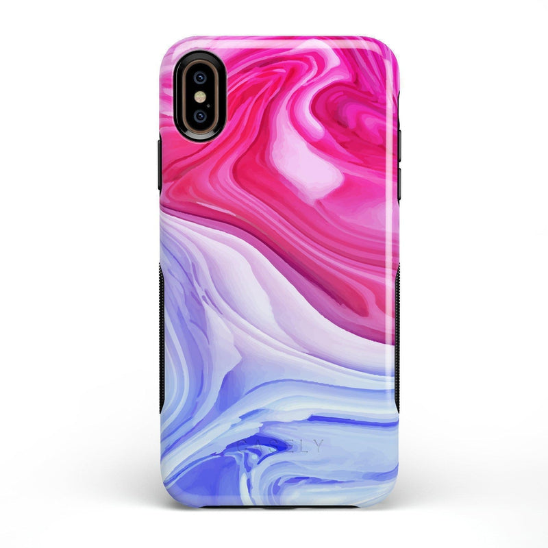 Land & Sea Marble Swirl iPhone Case iPhone Case get.casely Bold iPhone XS Max