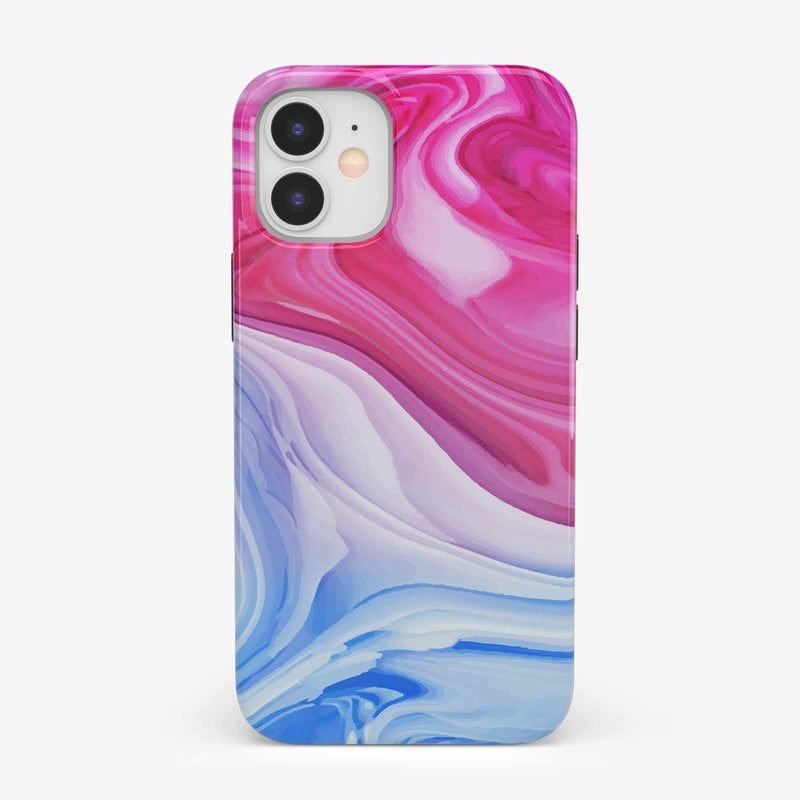 Land & Sea Marble Swirl iPhone Case iPhone Case get.casely Classic iPhone 12 Mini