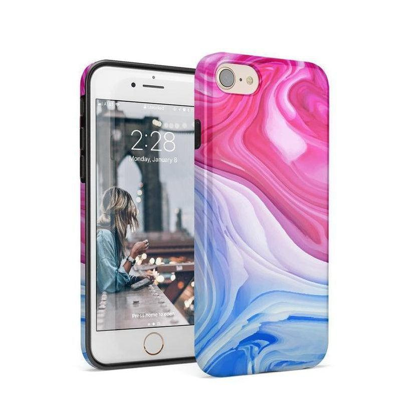 Land & Sea Marble Swirl iPhone Case iPhone Case get.casely Classic iPhone 8