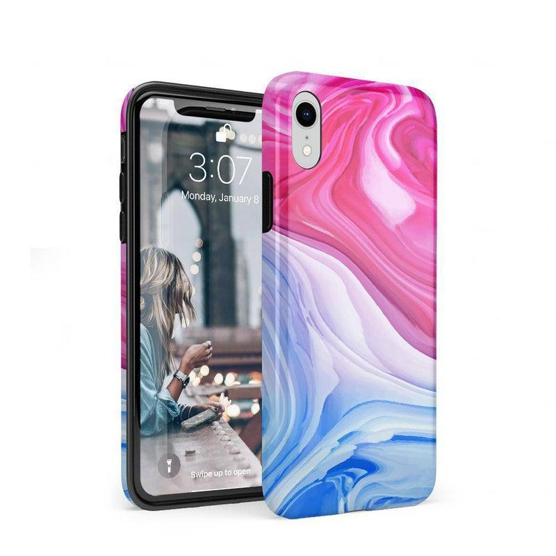 Land & Sea Marble Swirl iPhone Case iPhone Case get.casely Classic iPhone XR