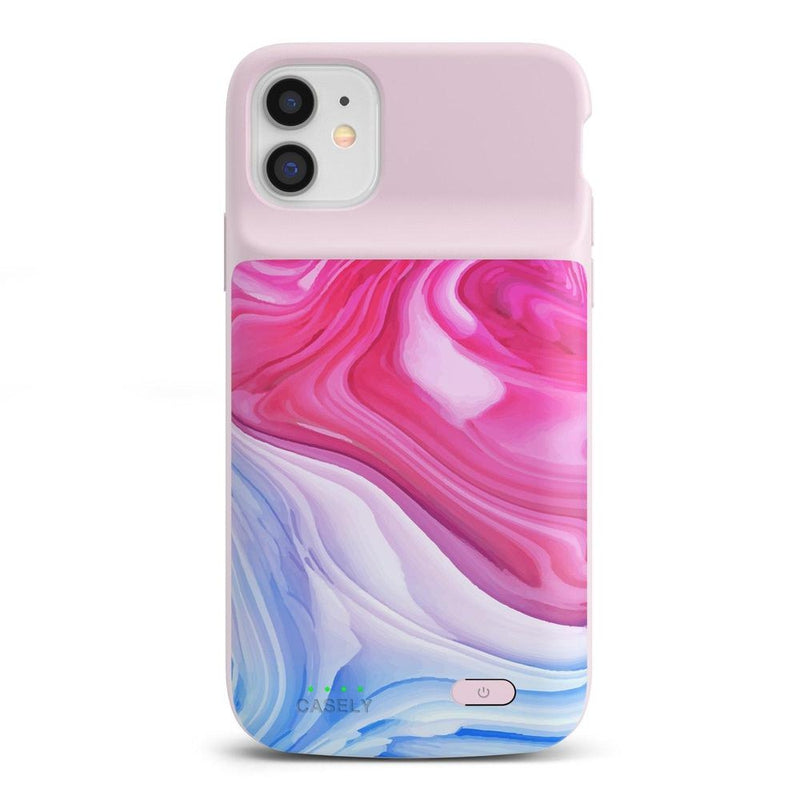 Land & Sea Marble Swirl iPhone Case iPhone Case get.casely Power 2.0 iPhone 11