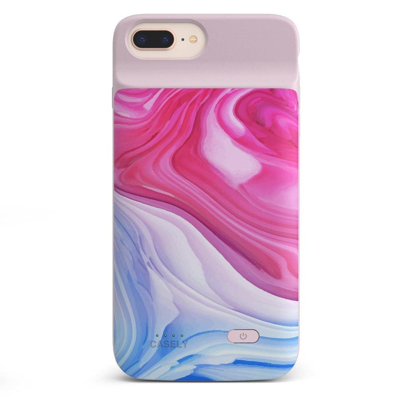Land & Sea Marble Swirl iPhone Case iPhone Case get.casely Power 2.0 iPhone 8 Plus