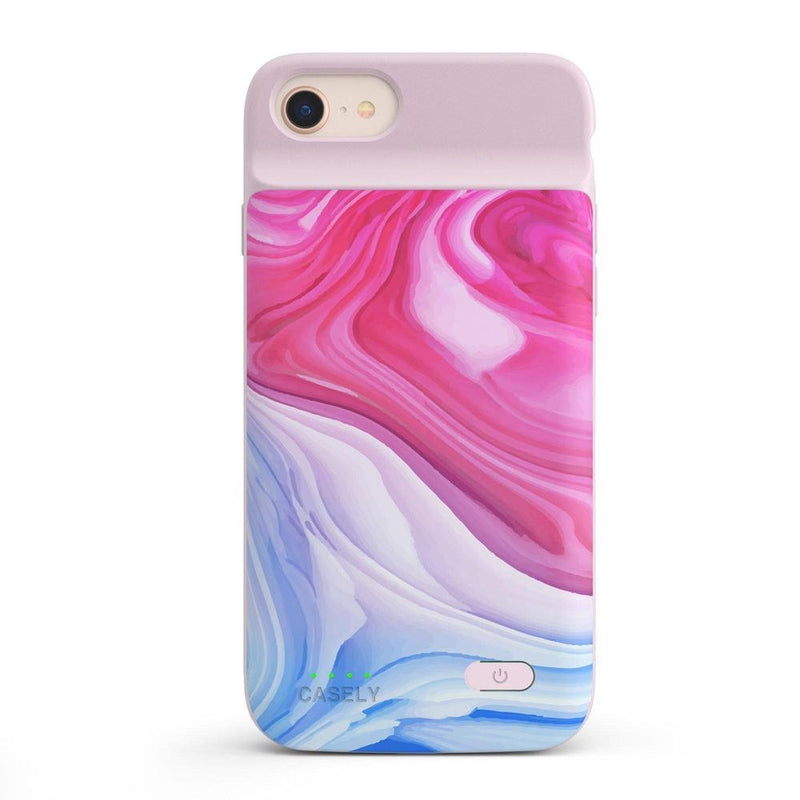 Land & Sea Marble Swirl iPhone Case iPhone Case get.casely Power 2.0 iPhone SE (2020)