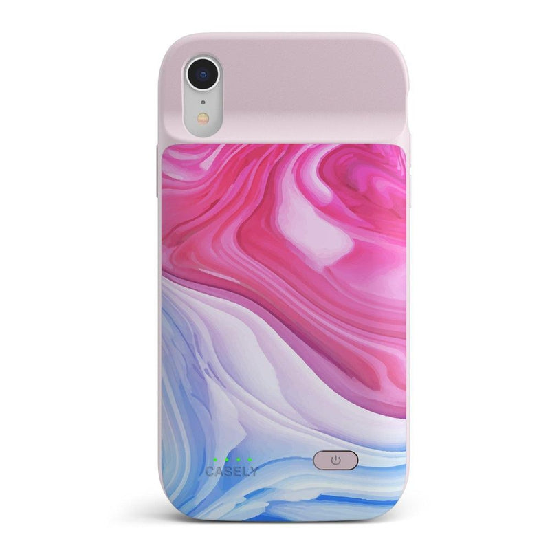 Land & Sea Marble Swirl iPhone Case iPhone Case get.casely Power 2.0 iPhone XR