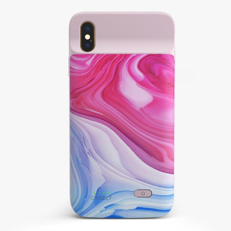 Land & Sea Marble Swirl iPhone Case iPhone Case get.casely Power 2.0 iPhone XS Max
