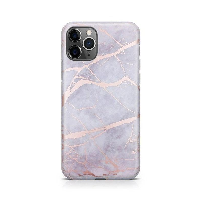 Lavender Gray & Rose Gold Marble Case iPhone Case Get.Casely Classic iPhone 11 Pro