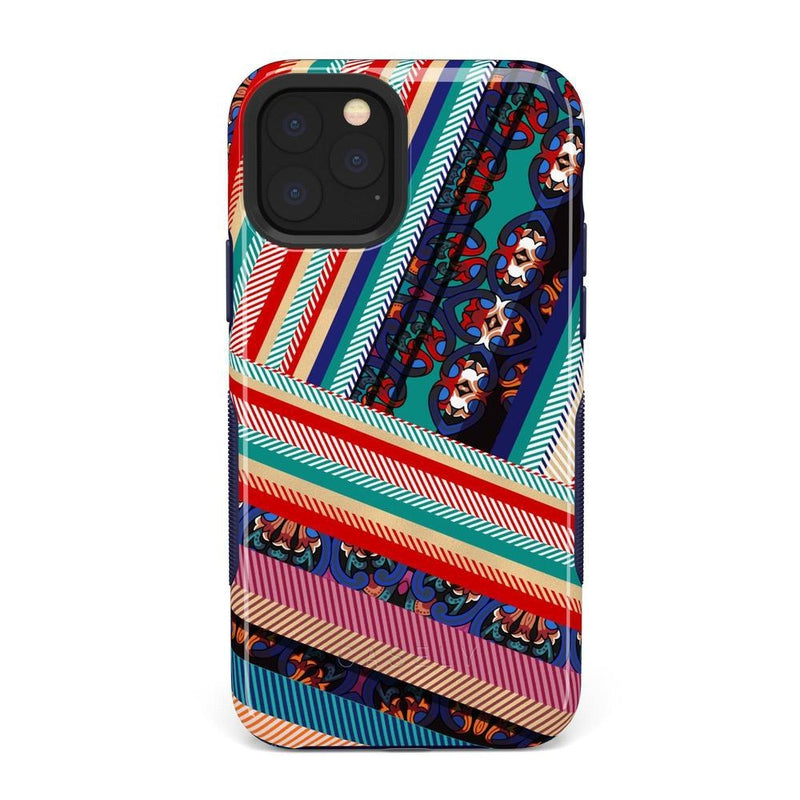 Layered Patchwork iPhone Case iPhone Case Get.Casely Bold iPhone 11 Pro Max