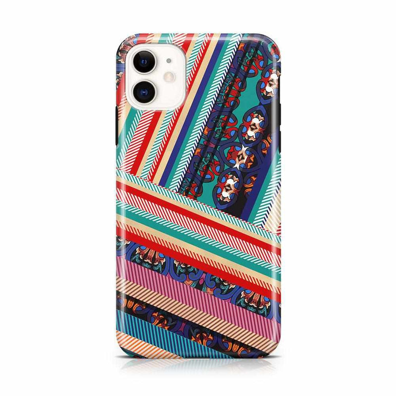 Layered Patchwork iPhone Case iPhone Case Get.Casely Classic iPhone 11