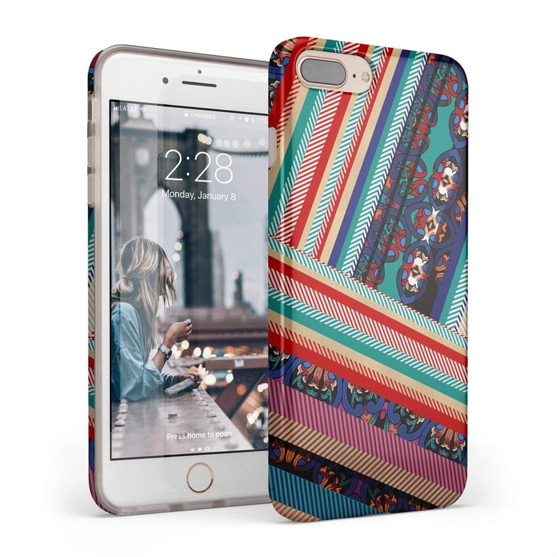 Layered Patchwork iPhone Case iPhone Case Get.Casely Classic iPhone 6/6s Plus