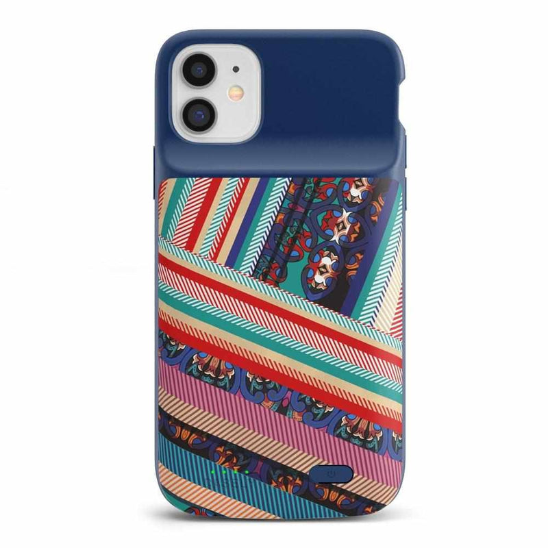 Layered Patchwork iPhone Case iPhone Case get.casely Power 2.0 iPhone 11