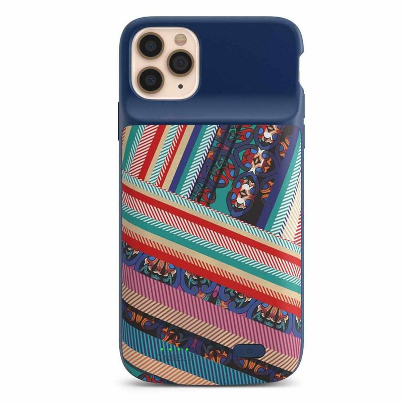 Layered Patchwork iPhone Case iPhone Case get.casely Power 2.0 iPhone 11 Pro Max