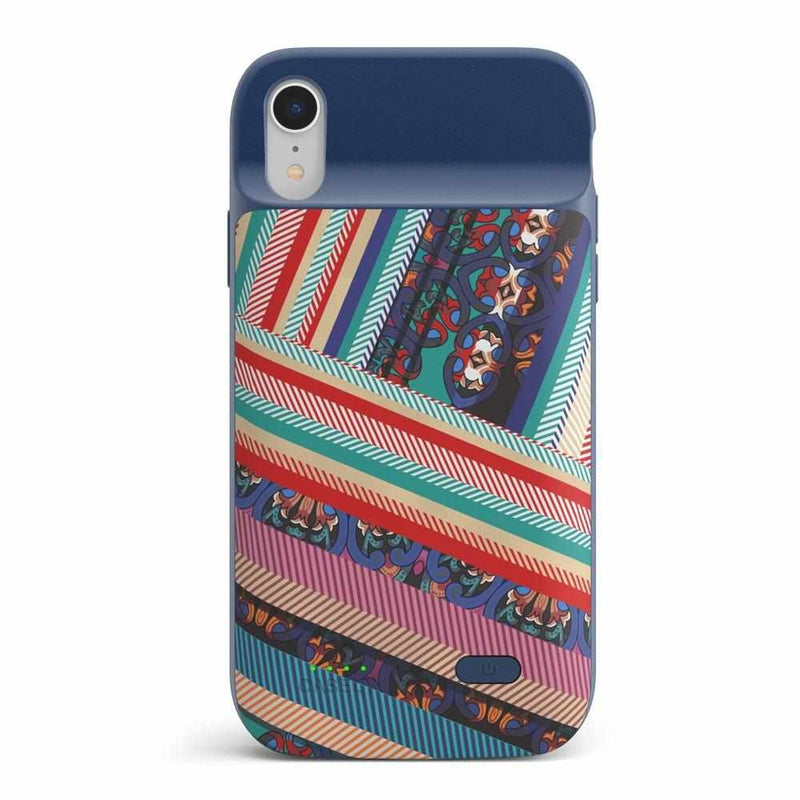 Layered Patchwork iPhone Case iPhone Case get.casely Power 2.0 iPhone XS Max