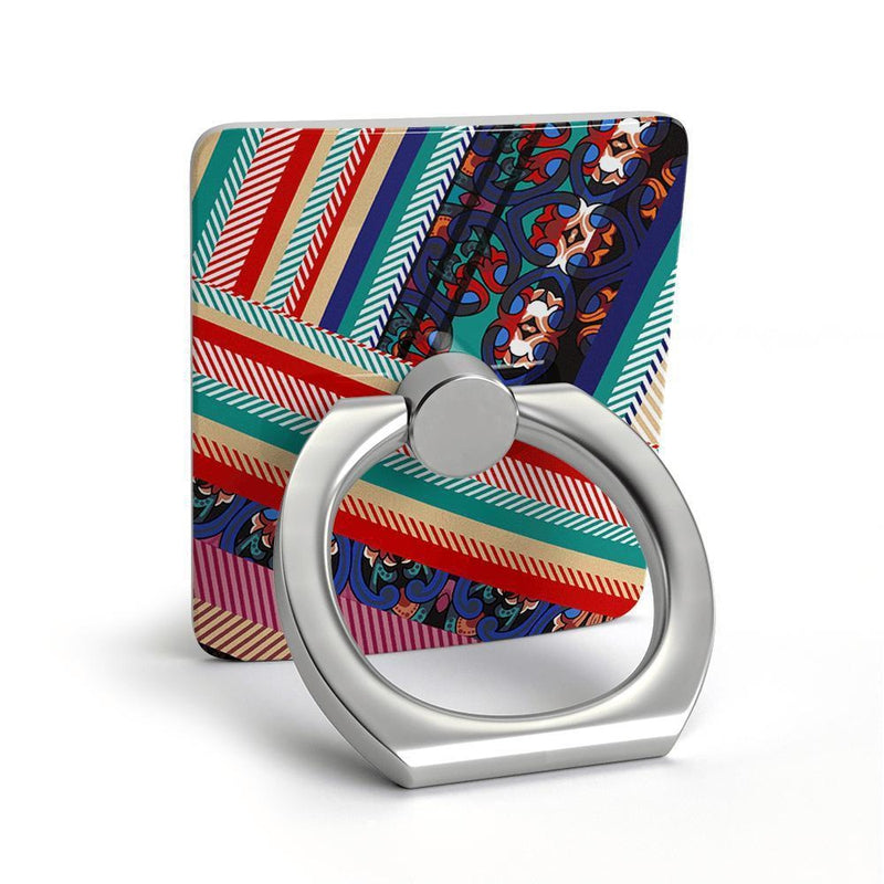 Layered Patchwork Phone Ring Phone Ring get.casely