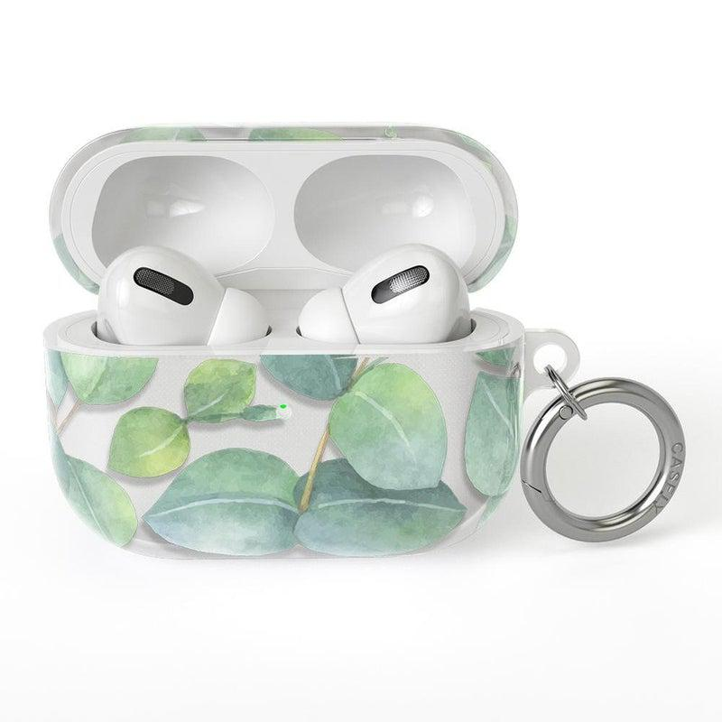 Leaf Me Alone | Green Floral Print AirPods Case AirPods Case CASELY AirPods Pro Case