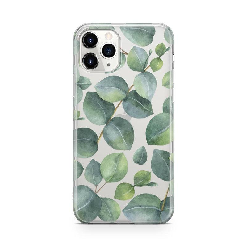 Leaf Me Alone | Green Floral Print Case iPhone Case Get.Casely Classic iPhone 11 Pro Max
