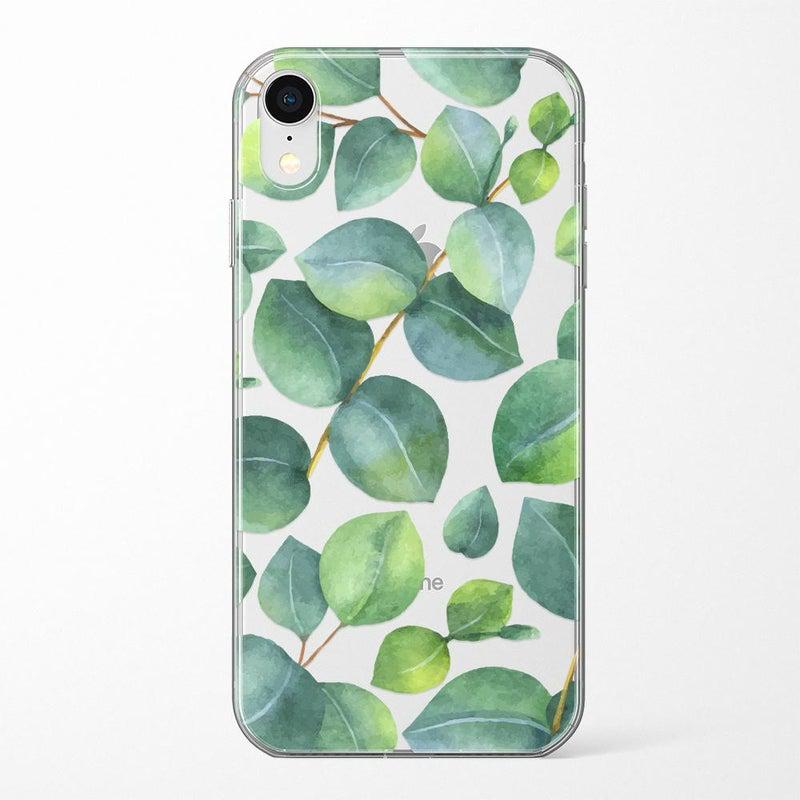 Leaf Me Alone | Green Floral Print Case iPhone Case Get.Casely Classic iPhone XR