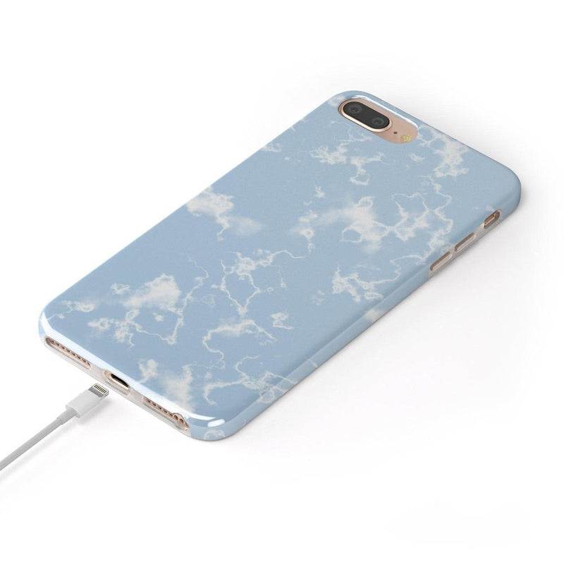 Light Blue Skies Marble Clouds Case iPhone Case Get.Casely