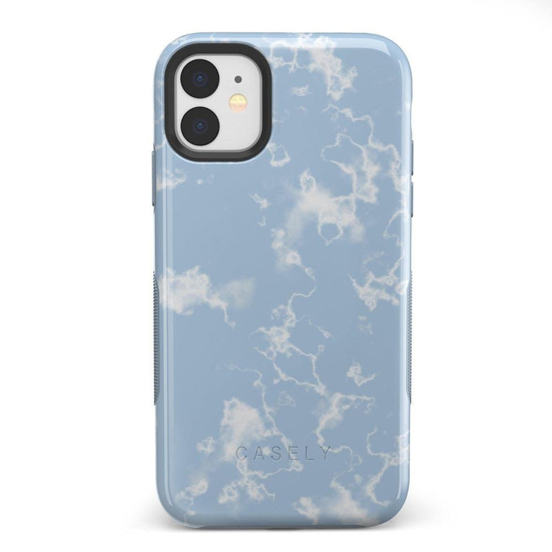 Light Blue Skies Marble Clouds Case iPhone Case Get.Casely Bold iPhone 11