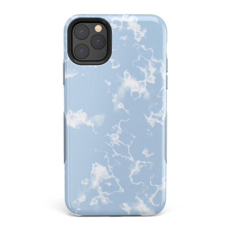 Light Blue Skies Marble Clouds Case iPhone Case Get.Casely Bold iPhone 11 Pro