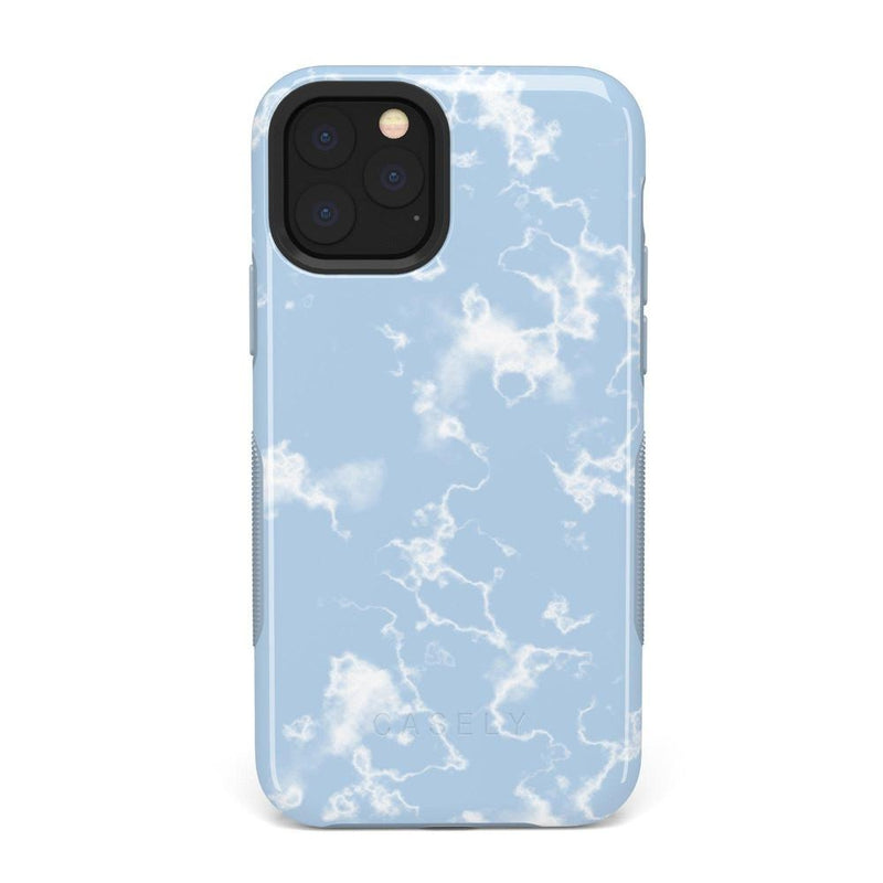 Light Blue Skies Marble Clouds Case iPhone Case Get.Casely Bold iPhone 11 Pro Max