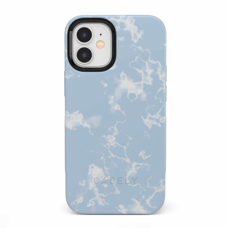 Light Blue Skies Marble Clouds Case iPhone Case get.casely Bold iPhone 12 Mini