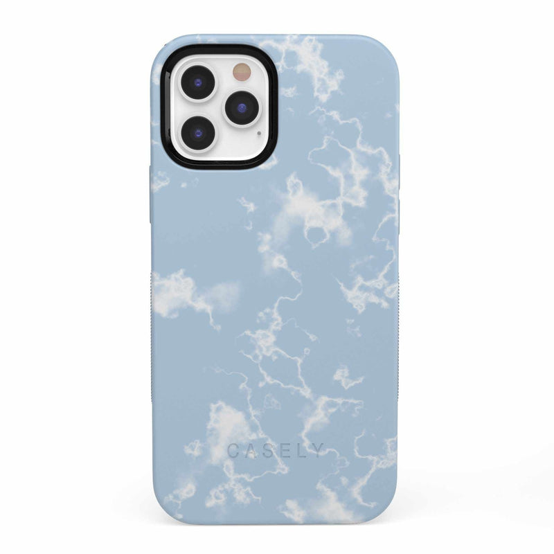 Light Blue Skies Marble Clouds Case iPhone Case get.casely Bold iPhone 12 Pro