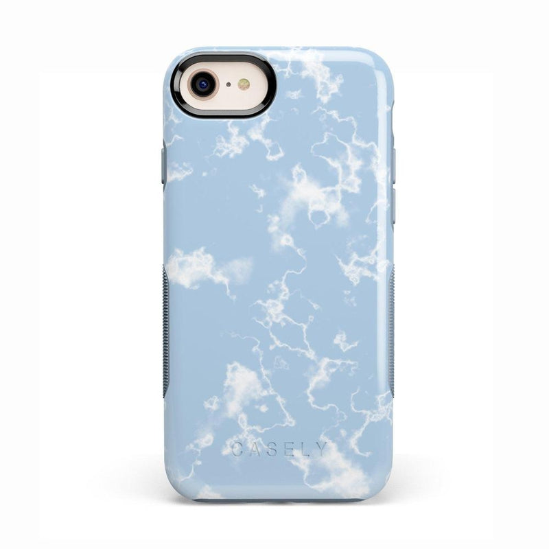 Light Blue Skies Marble Clouds Case iPhone Case Get.Casely Bold iPhone 8