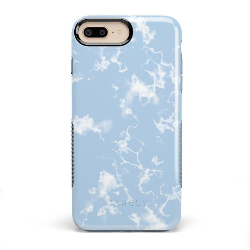 Light Blue Skies Marble Clouds Case iPhone Case Get.Casely Bold iPhone 8 Plus