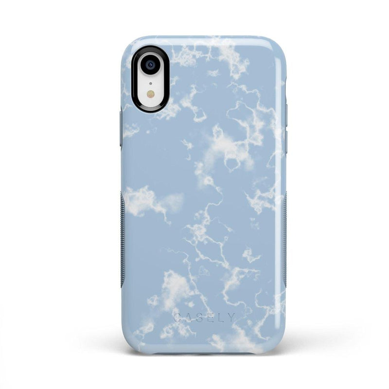 Light Blue Skies Marble Clouds Case iPhone Case Get.Casely Bold iPhone XR