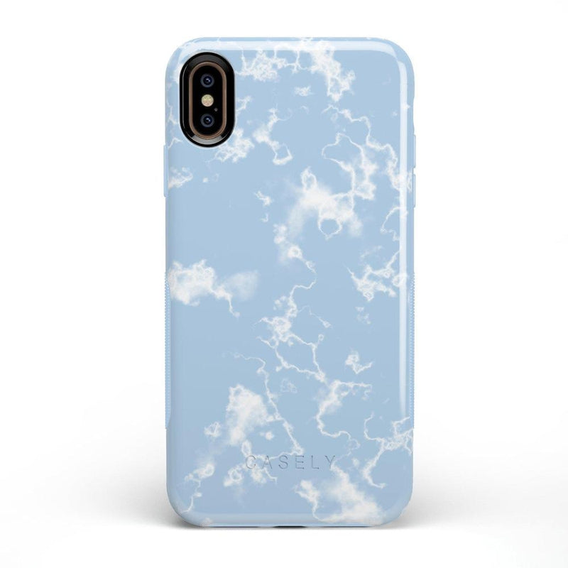 Light Blue Skies Marble Clouds Case iPhone Case Get.Casely Bold iPhone XS Max