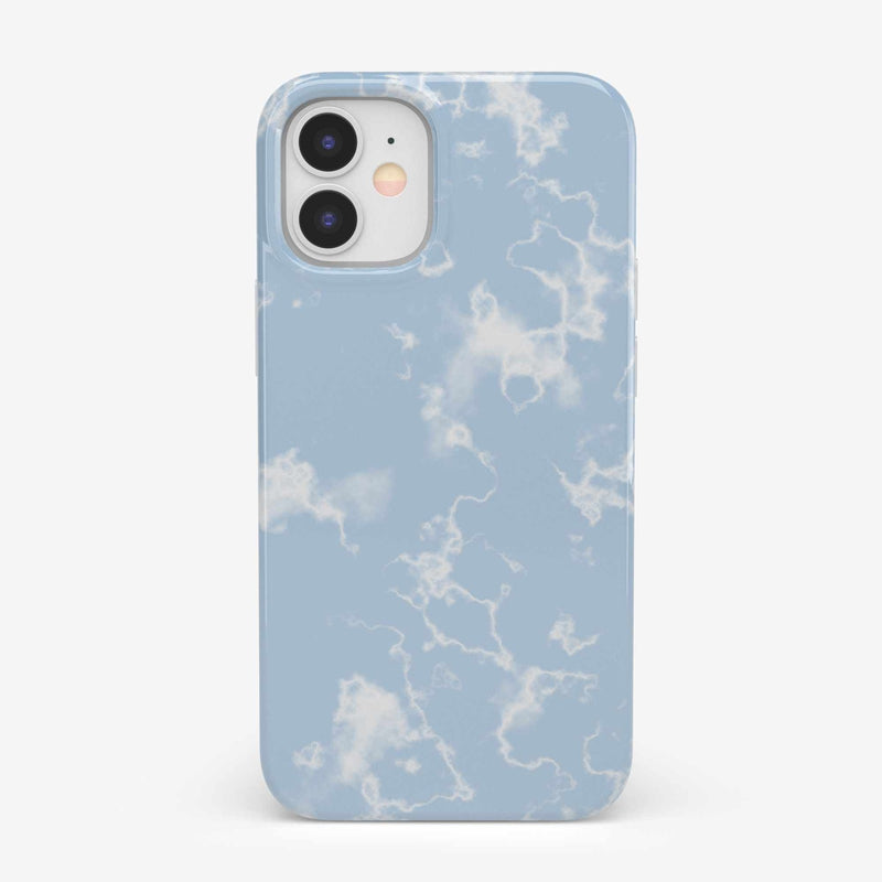 Light Blue Skies Marble Clouds Case iPhone Case get.casely Classic iPhone 12 Mini