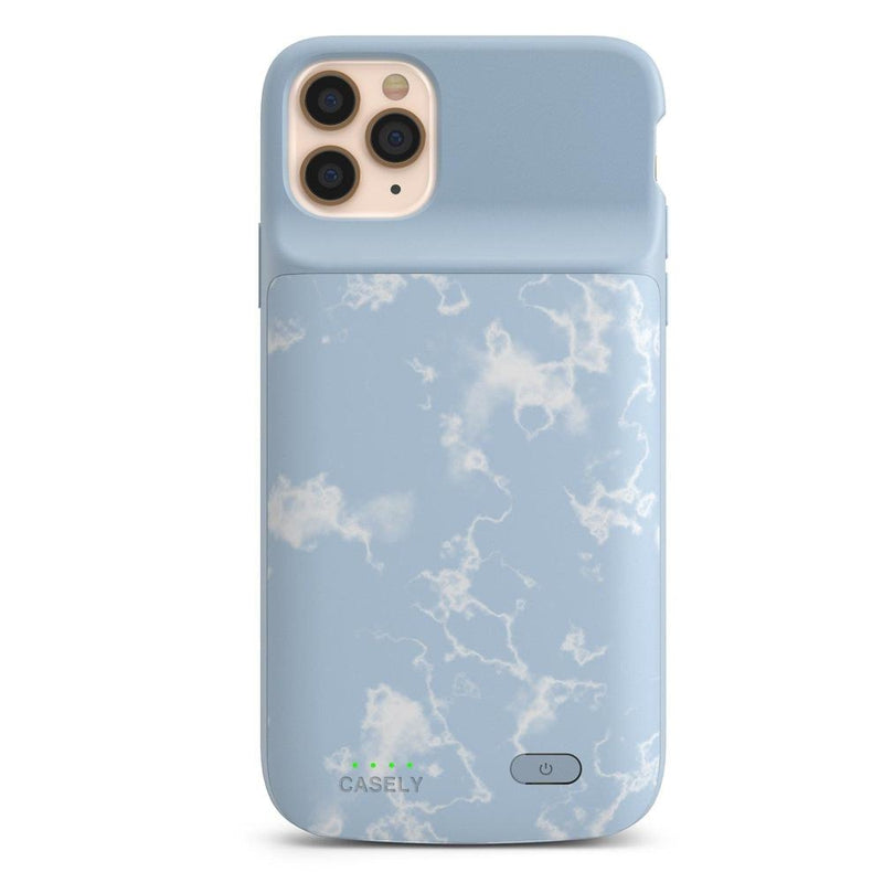 Light Blue Skies Marble Clouds Case iPhone Case get.casely Power 2.0 iPhone 11 Pro Max
