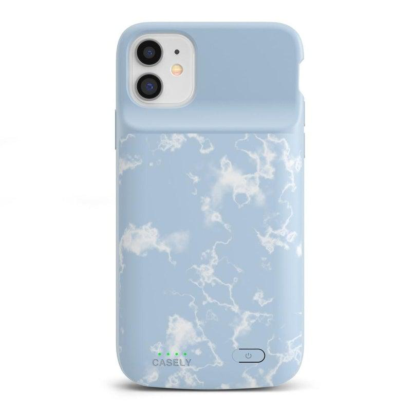 Light Blue Skies Marble Clouds Case iPhone Case get.casely Power 2.0 iPhone 12 Mini