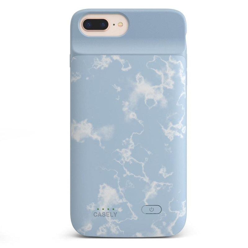 Light Blue Skies Marble Clouds Case iPhone Case get.casely Power 2.0 iPhone 8 Plus